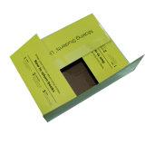 Caja de embalaje de cartón ondulado marrón liso