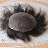 完全なフランスのレース安く標準的なメンズ毛の部分(PPG-l-01379)