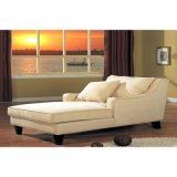 Sala de estar elegante mobiliário branco Chaise Lounge para venda