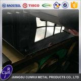 AISI 201 het Super Spiegel Opgepoetste Blad van Roestvrij staal 304 316L 310 409 430