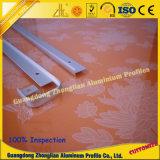 Perfil de aluminio de los muebles del mercado ruso con el proceso de doblez