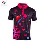 주문 Mens 골프 셔츠 디자인 캐주얼 셔츠 승화된 폴로 셔츠 도매로