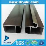 Profilo di alluminio della Tanzania per il portello scorrevole della stoffa per tendine della finestra