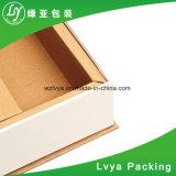 Cierre magnético al por mayor Envío de Papel caja de cartón ondulado marrón