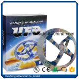 공중 UFO 비행접시 요술 장난감에 있는 부유물 공중 디스크에서 뜨는 굉장한 마술 신비 UFO