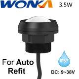 Lâmpada da Luz de carro automático de LED de exterior Repor 9~38V DC