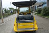 Carrello classico elettrico dell'annata del carrello del carrello di golf delle 4 sedi