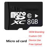 Micro TF scheda di deviazione standard di memoria di piena capacità 2GB 4GB 8GB 16GB 32GB 64GB 128GB per i telefoni mobili e la macchina fotografica
