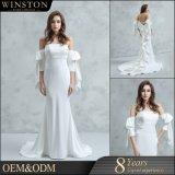 2018 Rendas de alta qualidade Mermaid vestido de casamento