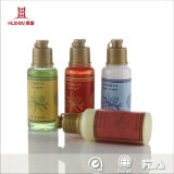 Condicionador do frasco do hotel da boa qualidade, loção do corpo, gel do chuveiro, champô