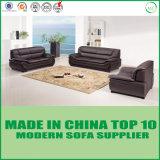 Sofa en cuir italien de Brown de meubles de bureau