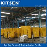 簡単な建設および効率的なアルミニウム橋床のコンクリート形式システム