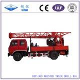 Équipement de foret multifonctionnel monté de puits d'eau de camion