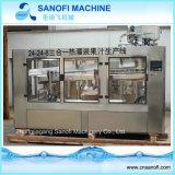 Machine automatique de remplissage à chaud de thé de jus de bouteille d'animal familier