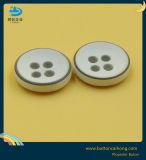 塗る粉砕の端の光沢がある方法衣類のクラフトポリエステルボタン