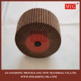 """8""""x2"""" 240# tampa da roda de polimento de fibra com lixa de papel"""