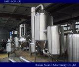 低温の真空の感熱材料を集中するための二重効果の省エネの蒸化器