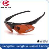 Óculos de sol de ciclagem de pesca dos esportes dos homens do gato 3 ambarinos do Ce da lente UV400