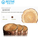 Governo di legno di buona qualità della quercia popolare della stanza da bagno dalla Cina (BY-F8069)