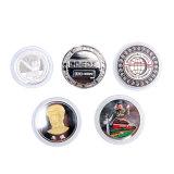 기념품 동전 짜개진 조각을 인쇄하는 고품질 아연 합금은 도금했다