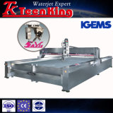 CNC van Teenking Waterjet Scherpe Machine voor Glas/Marmer/Grainte/