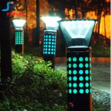 Indicatore luminoso solare del giardino del LED/lampada solare esterna del prato inglese