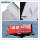 Recubierto de PVC de alta calidad de Banner en blanco Flex impresión de carteles