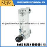 Glace acrylique facile à lire avec le débitmètre de vanne de régulation