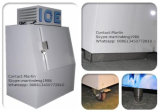 Congelador ensacado do armazenamento de gelo para a venda ao ar livre do gelo