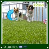 Hierba verde plástica artificial del césped competitivo (Lvbao)