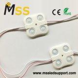 2835 Module à LED d'injection avec lentille optique pour boîte à lumière LED recto-verso et le canal des lettres