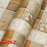 Papel pintado, paño de pared, PVC Wallcovering, papel de empapelar, tela de la pared, solando la hoja, solando el rodillo, papel pintado