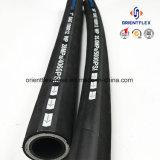 Pipe hydraulique en caoutchouc du boyau SAE100 R13