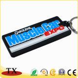 Porte-clés mou de haute qualité et la chaîne de clés de PVC