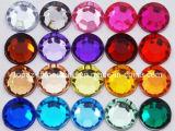 Bergkristallen van het Kristal van de fabriek de In het groot Achter Acryl vlak (fB-om 22mm)