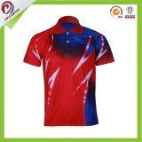 고품질 Sportswear100% 폴리에스테 직업적인 주문 폴로 셔츠