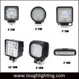 E-MARK LED feux automatique de 4 pouces carrés 15W/18W/24W/27W/48W LED Epistar chariot Feux de travail du tracteur