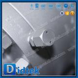 Robinet à tournant sphérique nickelé anti-déflagrant de Didtek avec verrouiller le dispositif