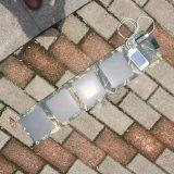 Handy 20W iPad elektrischer Buch-faltbarer Falz-beweglicher Sonnenenergie-Aufladeeinheits-Beutel