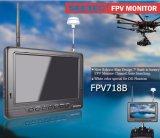 Монитор Fpv канала батареи 7 дюймов искать портативного супер тонкого Built-in автоматический