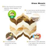 Декоративные материалы стенки стеклянной мозаики плитки для ванной комнаты
