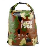 スポーツは乾燥した袋屋外PVC防水シートの乾燥した袋のバックパックを防水する