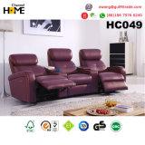 熱い販売の快適な機能革リクライニングチェアのソファー(HC013)