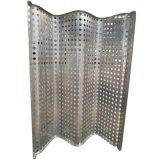 Strato di alluminio perforato dell'onda per lo schermo della facciata
