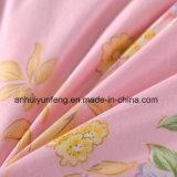 Le canard blanc teint par filé de tissu de coton de la configuration 40s piquent vers le bas