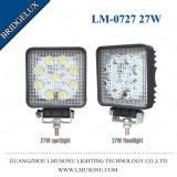 4.3インチのBridgelux LEDのスポットライト27WオフロードLED作業ライト