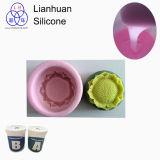RTV-2 Grau Alimentício de borracha de líquido para a Fundição de moldes de silicone para assar