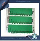 Heißer stempelnde Folien-Sicherheits-Papier-Aufkleber