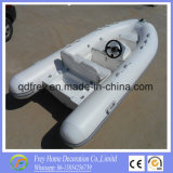 Marcação da costela de iates de fibra de barco de pesca