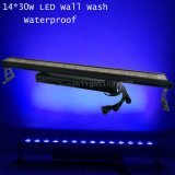 30wx14 PCS RGB 3in1 Waterproof a luz da barra do diodo emissor de luz